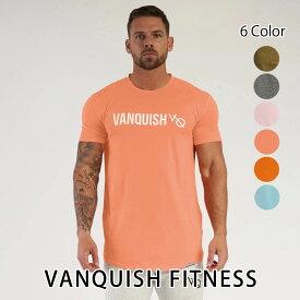 ヴァンキッシュ フィットネス VANQUISH FITNESS TRIUMPH T-SHIRT 半袖 Tシャツ メンズ 筋トレ ジム ウエア スポーツウェア イギリス 正規品