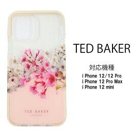 Ted Baker テッドベイカー ハードケース iPhone 12 Pro Max mini アイフォン ケース クリアケース 透明 花柄 JASMINE[スマホケース]