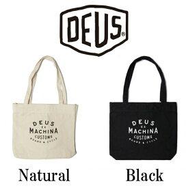 DeusExMachina デウスエクスマキナ New Classics Tote Natural Blackトートバッグ バッグ かばん ナチュラル ブラック 手さげ キャンバス トート Deus Ex Machina[かばん]