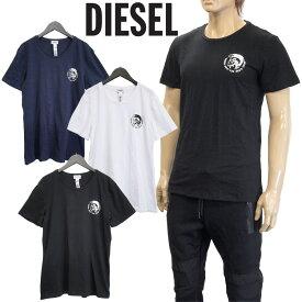ディーゼル DIESEL Tシャツ 3枚セット クルーネック ブレイブマンロゴ SJ5L-0TANL UMTEE-RANDAL-02 ネイビー ホワイト ブラック