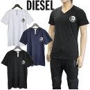 ディーゼルDIESELTシャツ3枚セットUMTEE-JAKE-VSPDM-0AALWUMTEE-JAKE-VTHREEPACK-ベーシックカラー3枚組Vネック