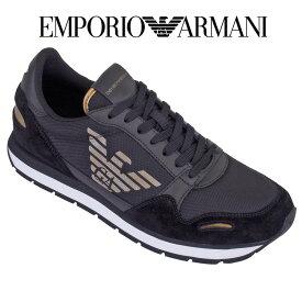 エンポリオアルマーニ EMPORIO ARMANI スニーカー サイドロゴ イーグルロゴ X4X215-XM561-N218