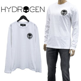 ハイドロゲン HYDROGEN ロンT Tシャツ 長袖 ジャパニーズ スカル 274624-001_WHITE