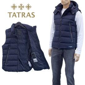 タトラス TATRAS ウール ダウンベスト ソヴェル MTAT20A4373-D SOVER-43 D.NAVY