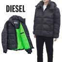 ディーゼル DIESEL 中綿 ネオンカラーライナー ジャケット A01248-0GAWA_W-RUSSELL-WH-9XX