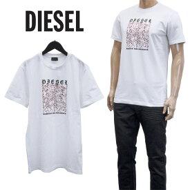 ディーゼル DIESEL スタープリント Tシャツ 半袖 ティーシャツ カットソー A01743-0GBAR UMLT-DIEGOS-J-100