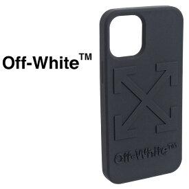 オフホワイト Off-White iPhoneケース iPhone 12mini 専用ケース ブラック OMPA025R21PLA008-1000