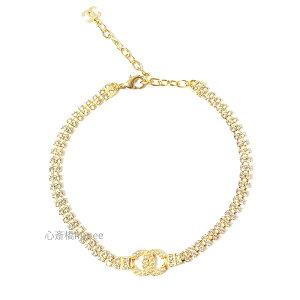 ≪新品≫ CHANEL シャネル ネックレス AB5037 B04213 N9181 チョーカー CCマーク パール ラインストーン ゴールド 箱 リボン ラッピング チェーン