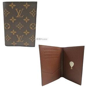 ≪新品≫ LOUIS VUITTON ルイヴィトン クーヴェルテュール パスポールNM パスポートケース カバー M64502 気球 ゴールドシーズナルスタンプ付き パスポート カード 箱 リボン ラッピング