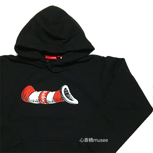 ≪新品≫ 18AW SUPREME Supreme 18aw Cat in the Hat Hooded Sweatshirts Black Mサイズ スウェット シュプリーム フーディ パーカ