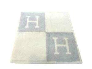 新品 エルメス ハンドタオル ブルー H エルメス紙袋ラッピング