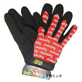 ≪新品≫ 17SS Supreme / Mechanix Wear Original Work Gloves RED Msize シュープリーム メカニックスウェア オリジナル ワーク グローブ 赤 Mサイズ