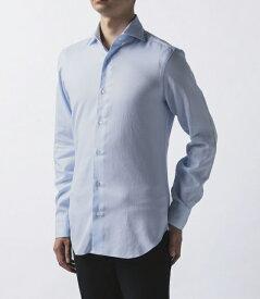 【2019AW SALE】バルバ/BARBA シャツ メンズ CULTO カッタウェイシャツ LIGHT BLUE K1U13H-5977-02ULBL