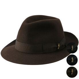 ボルサリーノ/BORSALINO 帽子 メンズ QUALITA SUPERIORE ANELLO RASAT ハット 2018年秋冬 114336-4336