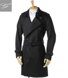 【2019AW SALE】バーバリー/BURBERRY コート メンズ KENSINGTON トレンチコート BLACK 8002473