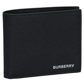 バーバリー/BURBERRY 財布 メンズ CC BILL COIN TT8 二つ折り財布 BLACK 8014656