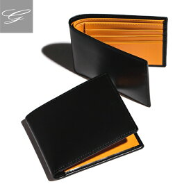 エッティンガー/ETTINGER 財布 メンズ Bridle Hide 二つ折り財布 ブラック BH030CJR-0001-0001
