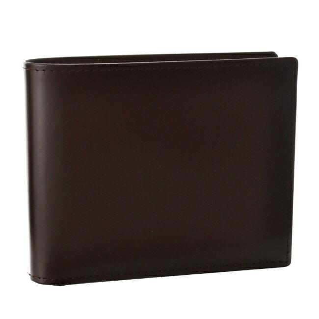 エッティンガー/ETTINGER 財布 メンズ Bridle Hide 2つ折り財布 ブラウン BH141JR-0001-0003