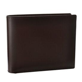 エッティンガー 2つ折り財布 ETTINGER 財布 メンズ Bridle Hide ブラウン 2019年春夏 BH141JR-0001-0003