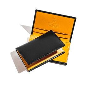 エッティンガー/ETTINGER 名刺入れ メンズ Bridle Hide カードケース ブラック BH143JR-0001-0001 2020年秋冬