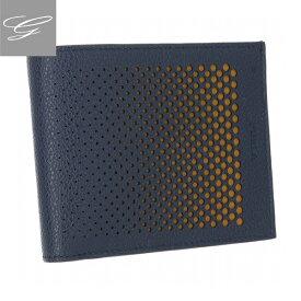 【2019AW SALE】フルラ 2つ折り財布 FURLA 財布 メンズ ULISSE BLU+GIALLO PZ95-MCX-MB3