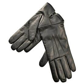 【★SALE★】ジョルジオアルマーニ グローブ GIORGIO ARMANI 手袋 メンズ シープスキン ブラック 744133-7A203-00020