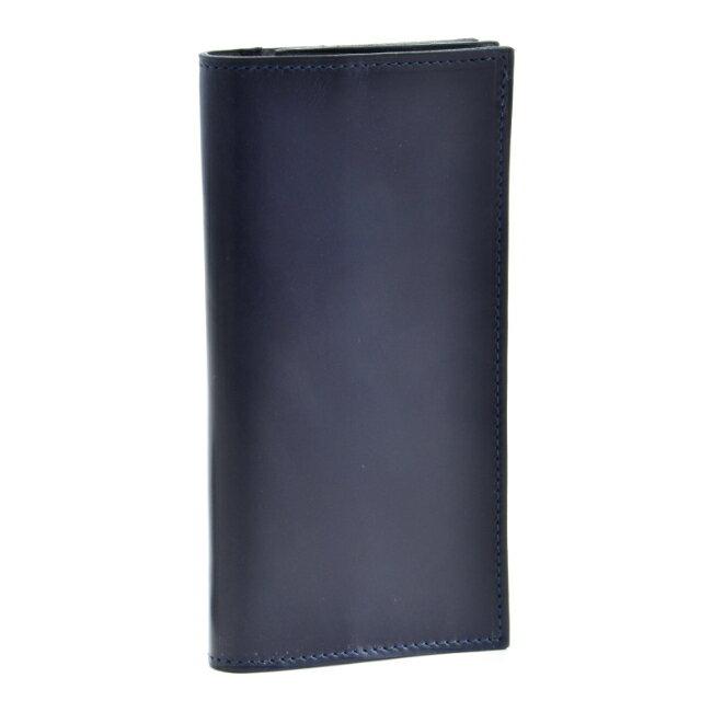 グレンロイヤル/GLENROYAL 財布 メンズ ブライドルレザー 2つ折り長財布 ネイビー 035594-0001-0003