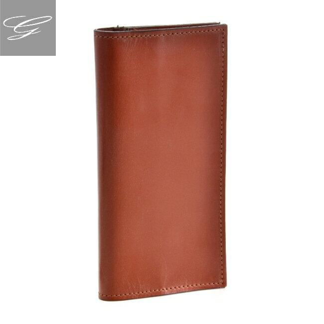 グレンロイヤル/GLENROYAL 財布 メンズ ブライドルレザー 2つ折り長財布 ブラウン 035594-0001-0004