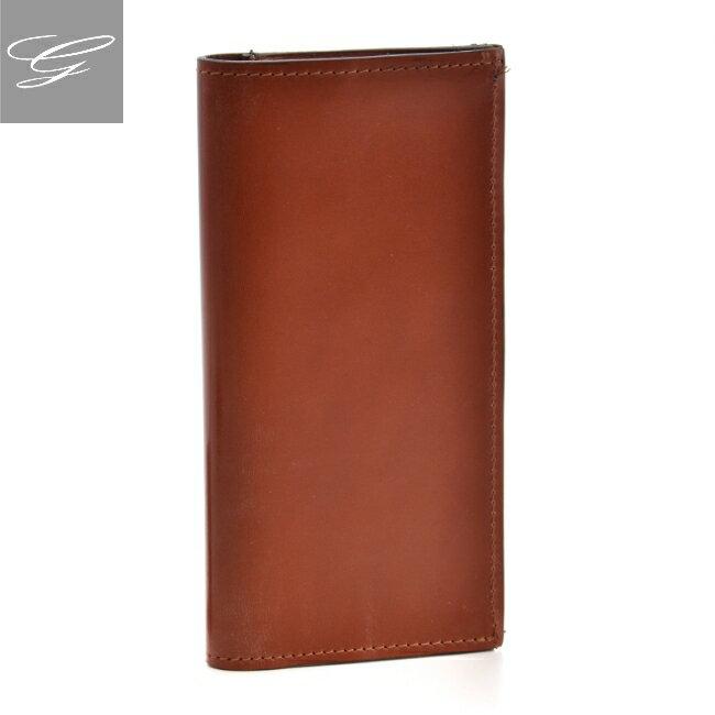 グレンロイヤル/GLENROYAL 財布 メンズ ブライドルレザー 2つ折り長財布 ブラウン 035604-0001-0004