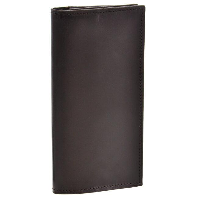 グレンロイヤル/GLENROYAL 財布 メンズ ブライドルレザー 2つ折り長財布 ダークブラウン 035605-0001-0001