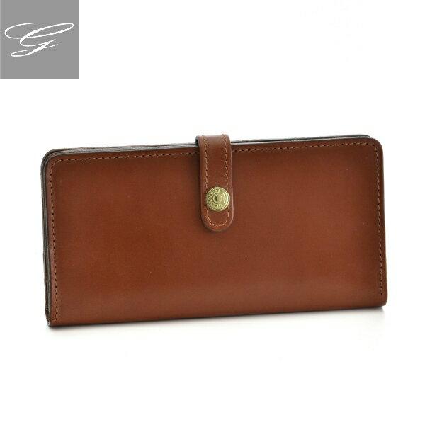 グレンロイヤル/GLENROYAL 財布 メンズ ブライドルレザー 2つ折り長財布 ブラウン 036178-0001-0004