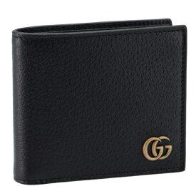 グッチ/GUCCI 財布 メンズ MEN'S GG MARM. 二つ折り財布 NERO 428725-DJ20T-1000