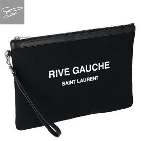 【2019AW SALE】サンローランパリ/SAINT LAURENT PARIS バッグ メンズ コットン クラッチバッグ NERO/BIANCO 581369-96NAD-1070