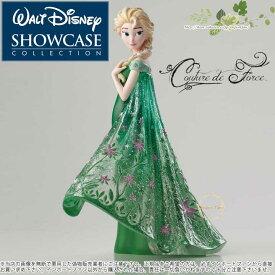 【10月限定2%オフクーポン】ディズニー ショーケース コレクション クチュール デ フォース エルサ アナと雪の女王 ディズニー 4051096 Disney Elsa as seen in Frozen Fever Couture de Force Figurine by Enesco Disney Showcase Couture de Force □