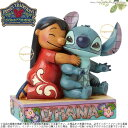 ジムショア ディズニー リロ&スティッチ 4043643 Jim Shore DISNEY Lilo and Stitch Ohana Means Family...