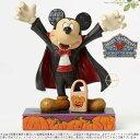 ジムショア ヴァンパイアミッキーマウスフィギュア ハロウィンのディスプレイにも ディズニー 4046027 Count Mickey-Vampire Micke...