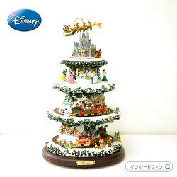 ディズニー動くプリンセスがかわいい♪クリスマスツリー高さ約40cm□