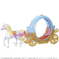 ディズニープリンセスシンデレラ魔法の馬車Disneyマジカルトランスフォーミング□