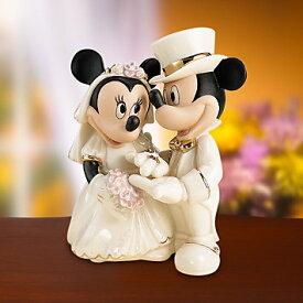 レノックス ミッキー ミニー 夢の結婚式 ドリームウェディング LENOX Dream Wedding 6130785 ディズニー ミッキーマウス ミニーマウス □