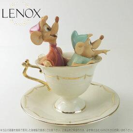 レノックス  LENOX ねずみのガスとジャックのティーパーティ Tea Party Pals ディズニー シンデレラ□