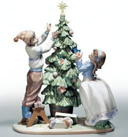 リヤドロ ツリーを飾ろう 01005897 LLADRO クリスマスツリー□