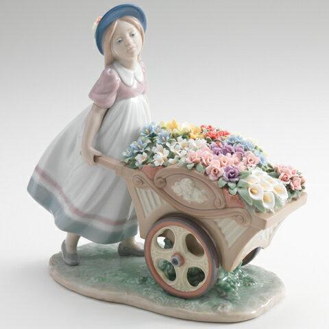リヤドロ 可愛いお花屋さん LLADRO 01006521【あす楽】 □