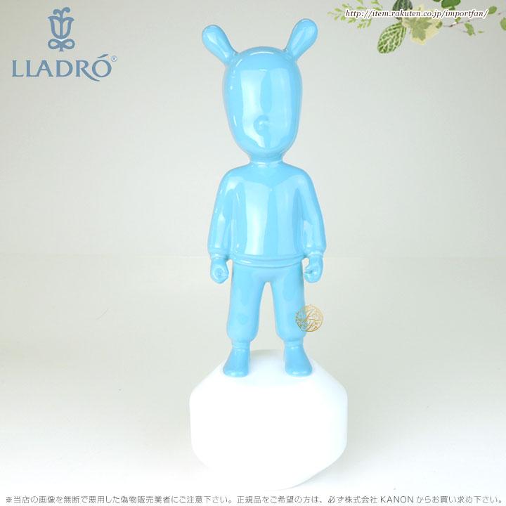 リヤドロ ザゲスト 青 01007736 LLADRO THE BLUE GUEST-LITTLE(Base included) □