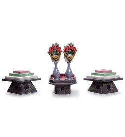 リヤドロ TABLES FOR SWEETS AND PEACH FLOWERS 01008774 ひなまつり LLADRO