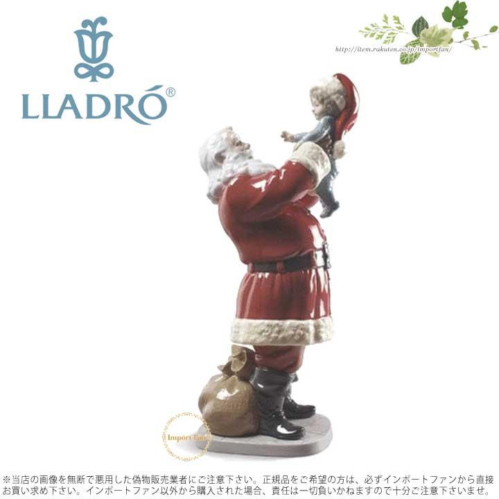 リヤドロ メリークリスマス サンタさん! 01009254 LLADRO MERRY CHRISTMAS SANTA! □