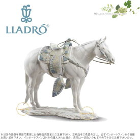【10月限定2%オフクーポン】リヤドロ クォーター・ホース White 馬 01009273 LLADRO WHITE QUARTER HORSE □