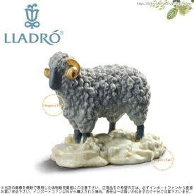 【10月限定2%オフクーポン】リヤドロ 羊 ひつじ ホワイトボックス 01045145 LLADRO THE SHEEP WHITE BOX □