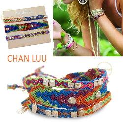 CHANLUU正規品★重ねづけが人気♪チャンルーのミサンガ風3点セットブレスレット