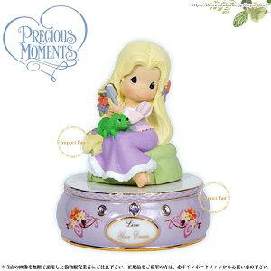 プレシャスモーメンツ ラプンツェル オルゴール Tangled Up In Your Love 114022 ディズニー Precious Moments Rapunzel □