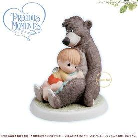 【マラソン限定2%オフクーポン】プレシャスモーメンツ バルー The Simple Bare Necessities 740006 ジャングル・ブック 陽気な熊 Precious Moments Baloo □